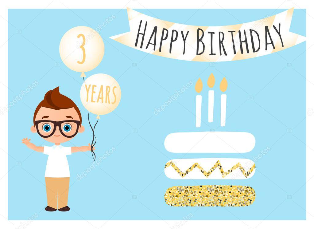Banner Feliz Aniversario: Postal De Feliz Aniversário. Feliz Aniversário Plano De