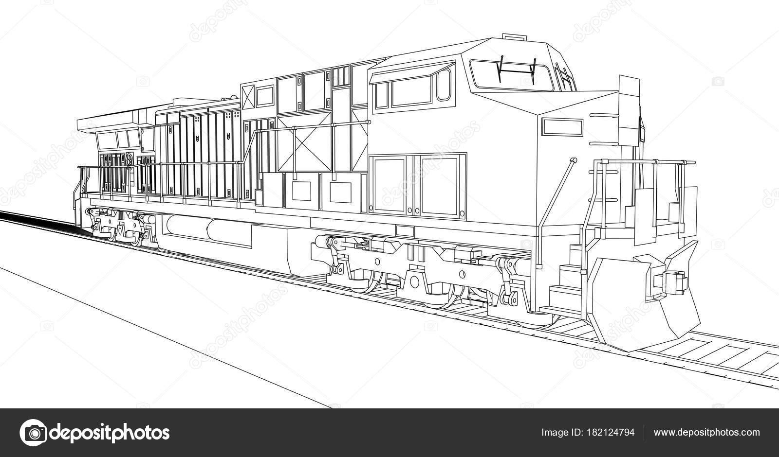 Modern diesel railway locomotive with great power and strength for modern diesel railway locomotive with great power and strength for moving long and heavy railroad train malvernweather Gallery