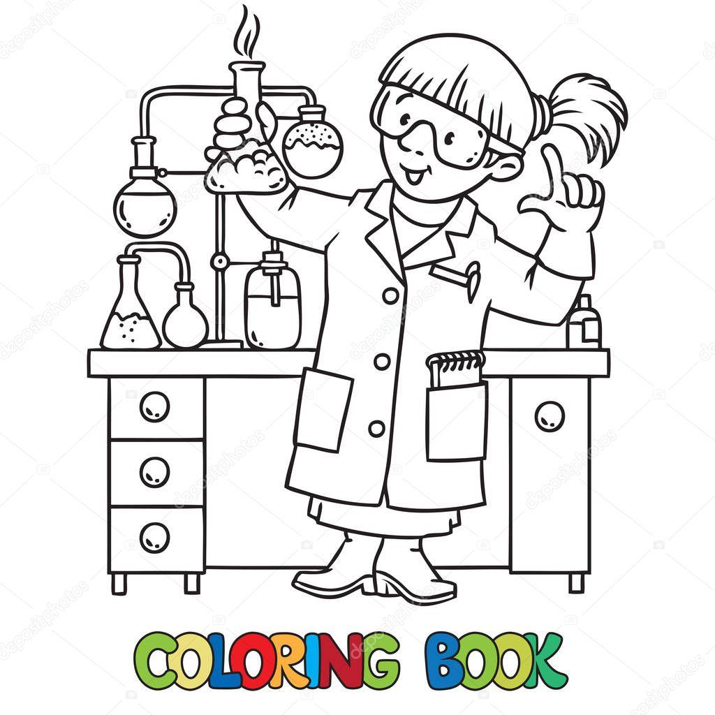 Imágenes Quimicos Para Dibujar Libro De Colorear