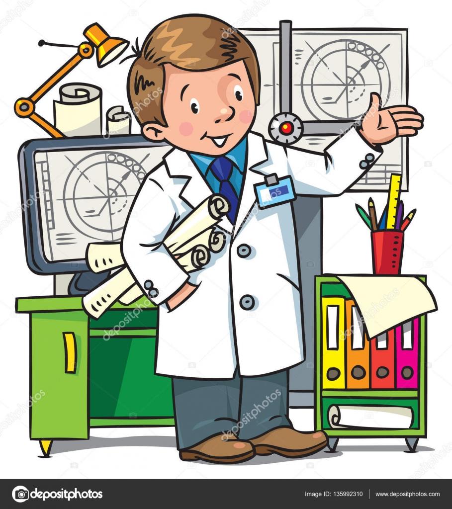 Imágenes Un Ingeniero Para Niños Libro De Colorear De Ingeniero