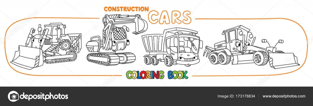 Imágenes: volquetas para colorear | Libro de colorear de transporte ...