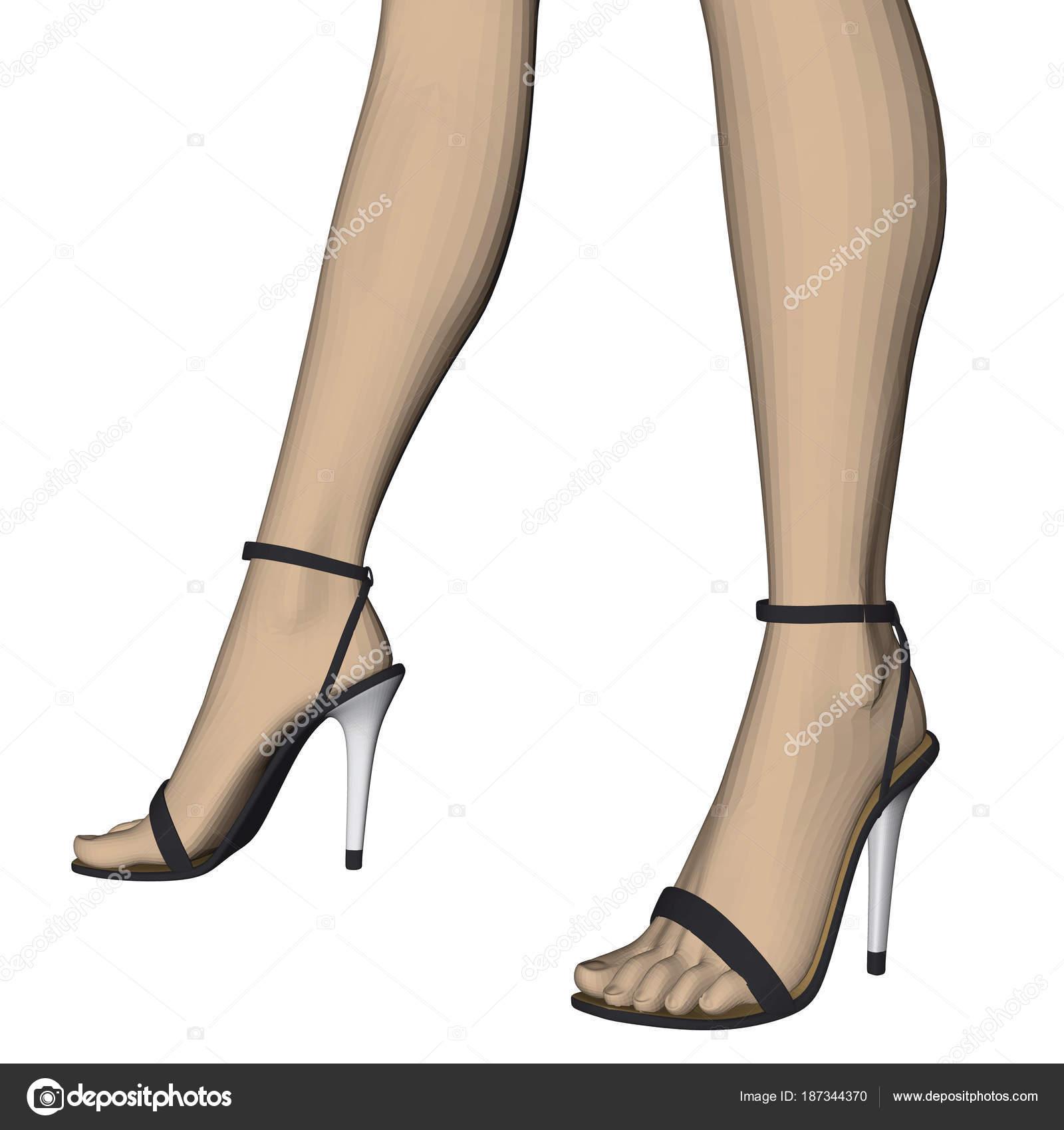 pretty nice 9bd9c dcfc3 Vettore: di donne con tacchi a spillo | Piedini femminili ...