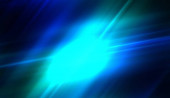 Zářící barevná světélka. Živé energetické pozadí. Paprsky světla s éterickou září. Krásná tapeta.