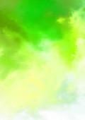 Fényképek Absztrakt színes akvarell fehér háttér. Digitális festés.