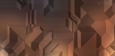 Polygonal background. Colorful wallpaper with geometric design. Digital 3d illustration.