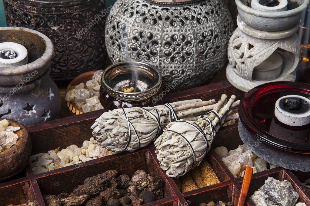 Various kinds of incense