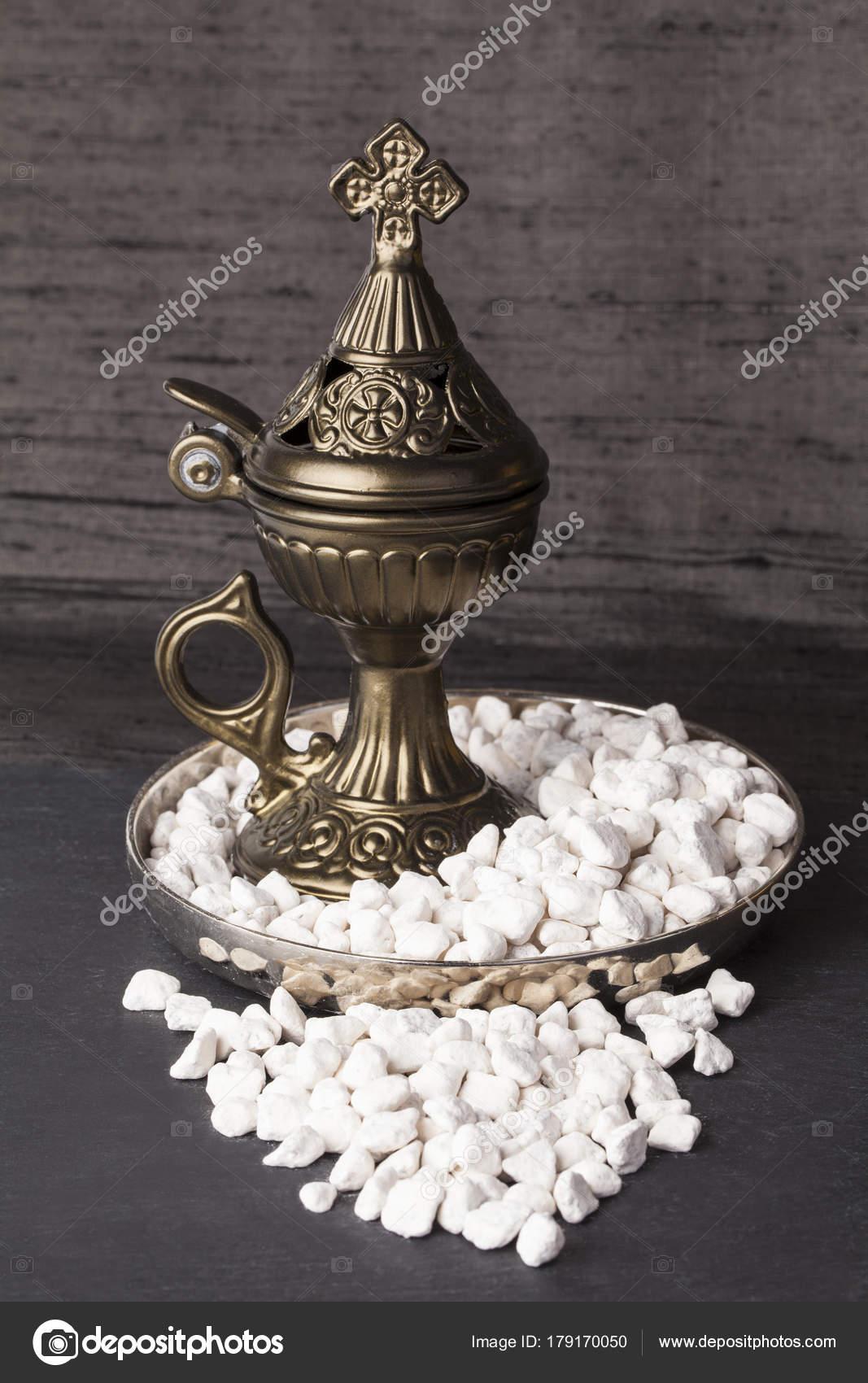 Greek Ortodox Church Incense Burner Athonite Style Tradition Athos Holy Stock Photo C Fotomem 179170050