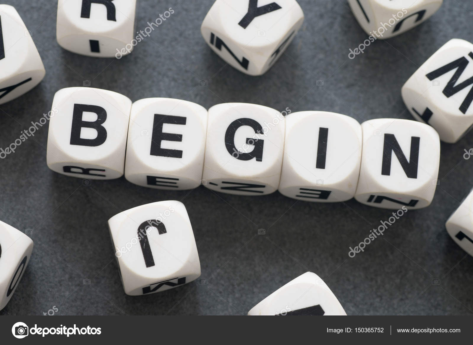 word begin on toy cubes stock photo aga77ta 150365752
