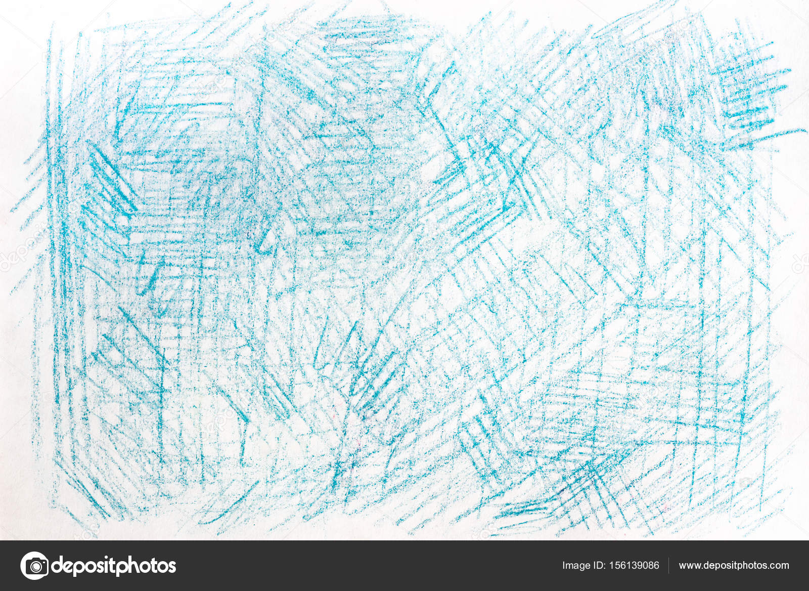crayon azul dibujos sobre textura de fondo de papel — Fotos de Stock ...