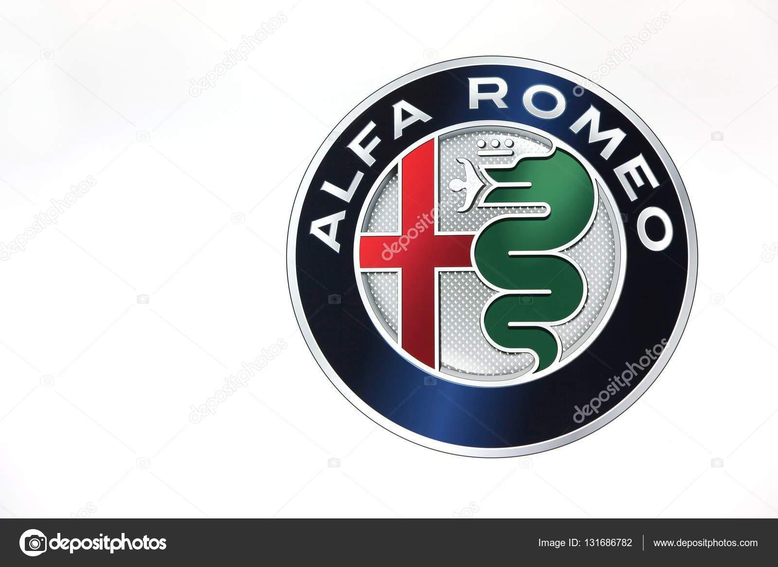 Alfa Romeo Logo On A Wall Stock Editorial Photo Ricochet69
