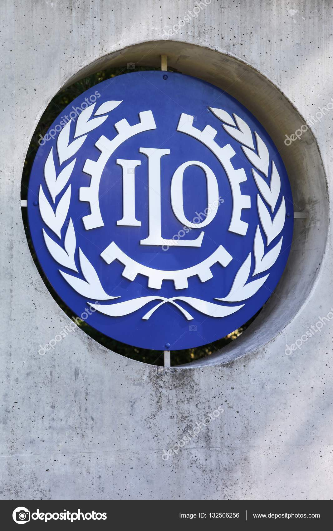 Ilo sign on a wall stock editorial photo ricochet69 132506256 ilo is a united nations specialized agency which promotes international human and labour rights photo by ricochet69 biocorpaavc