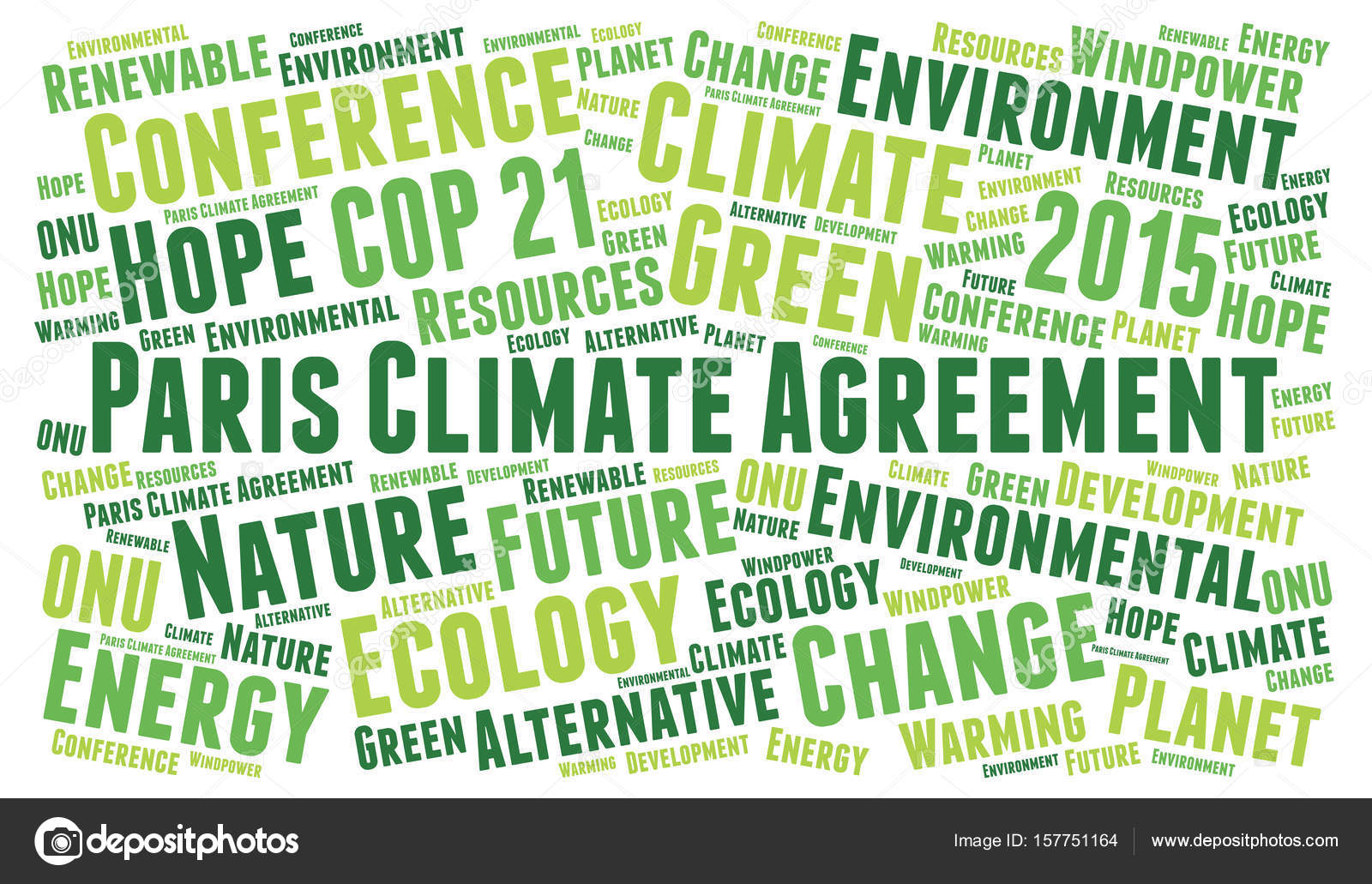Agreement In Word | Paris Climate Agreement Word Cloud Stockfoto C Ricochet69 157751164