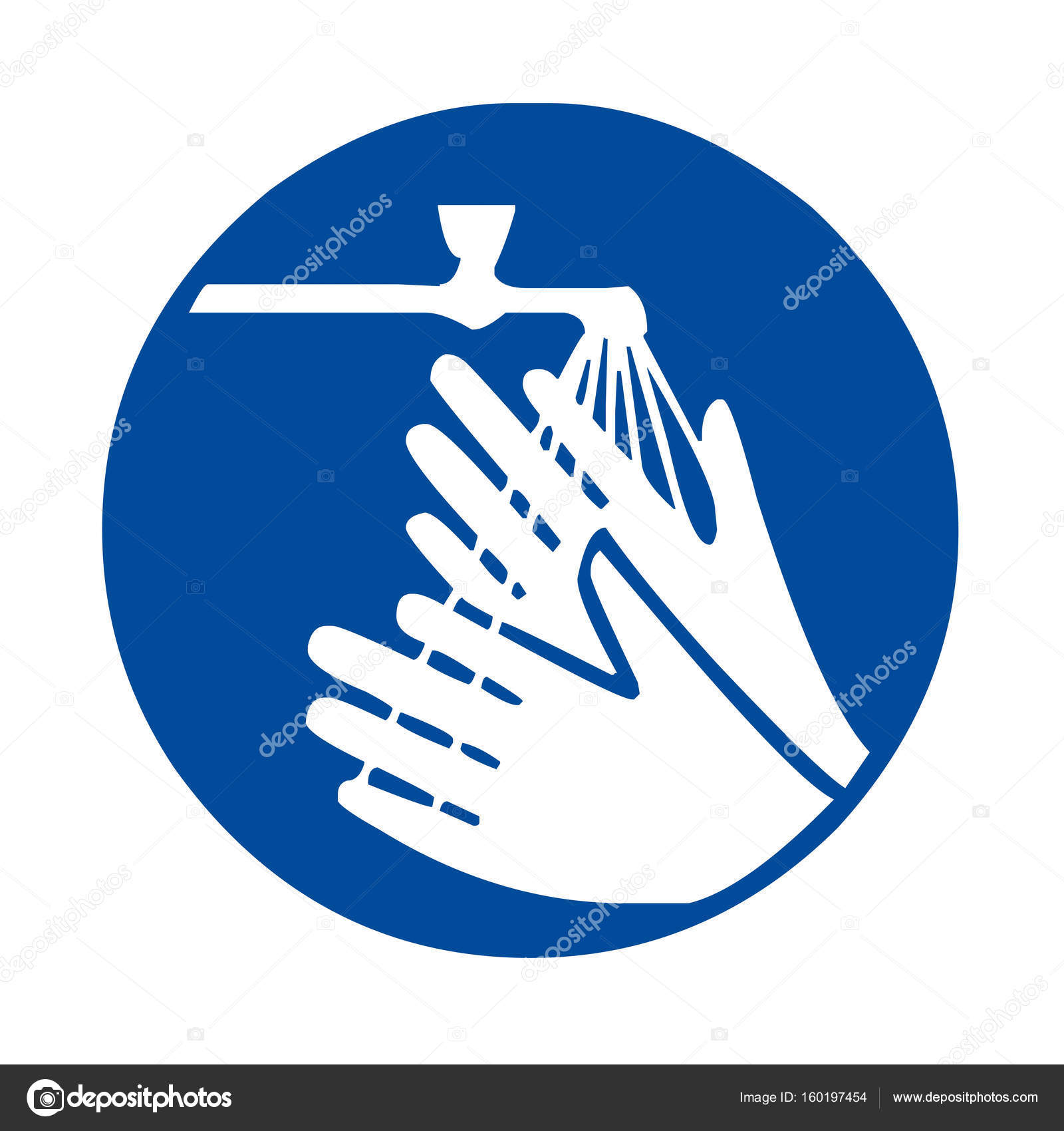 Wash Your Hands Sign Stock Photo Ricochet69 160197454
