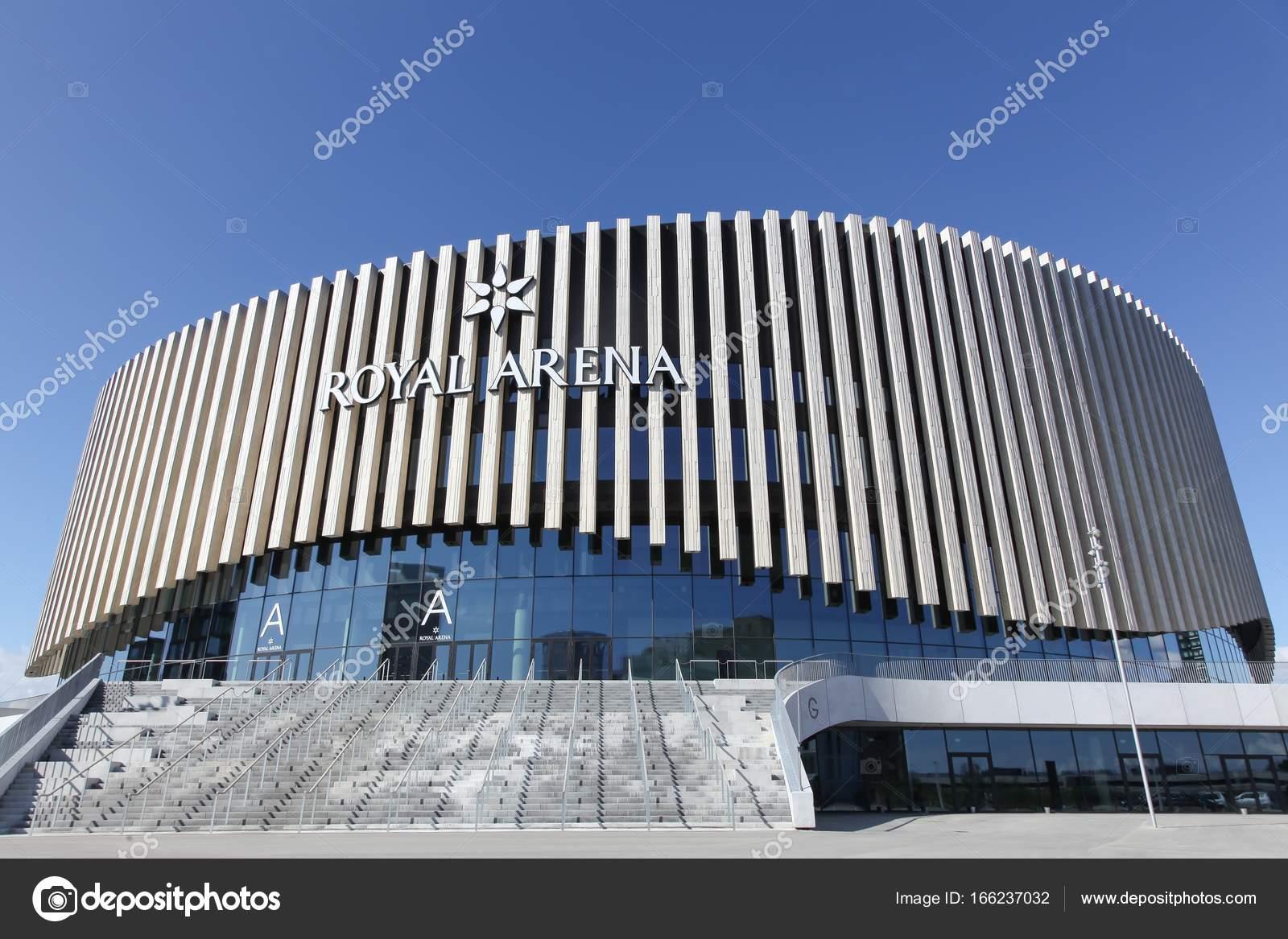 the royal arena in copenhagen denmark stock editorial