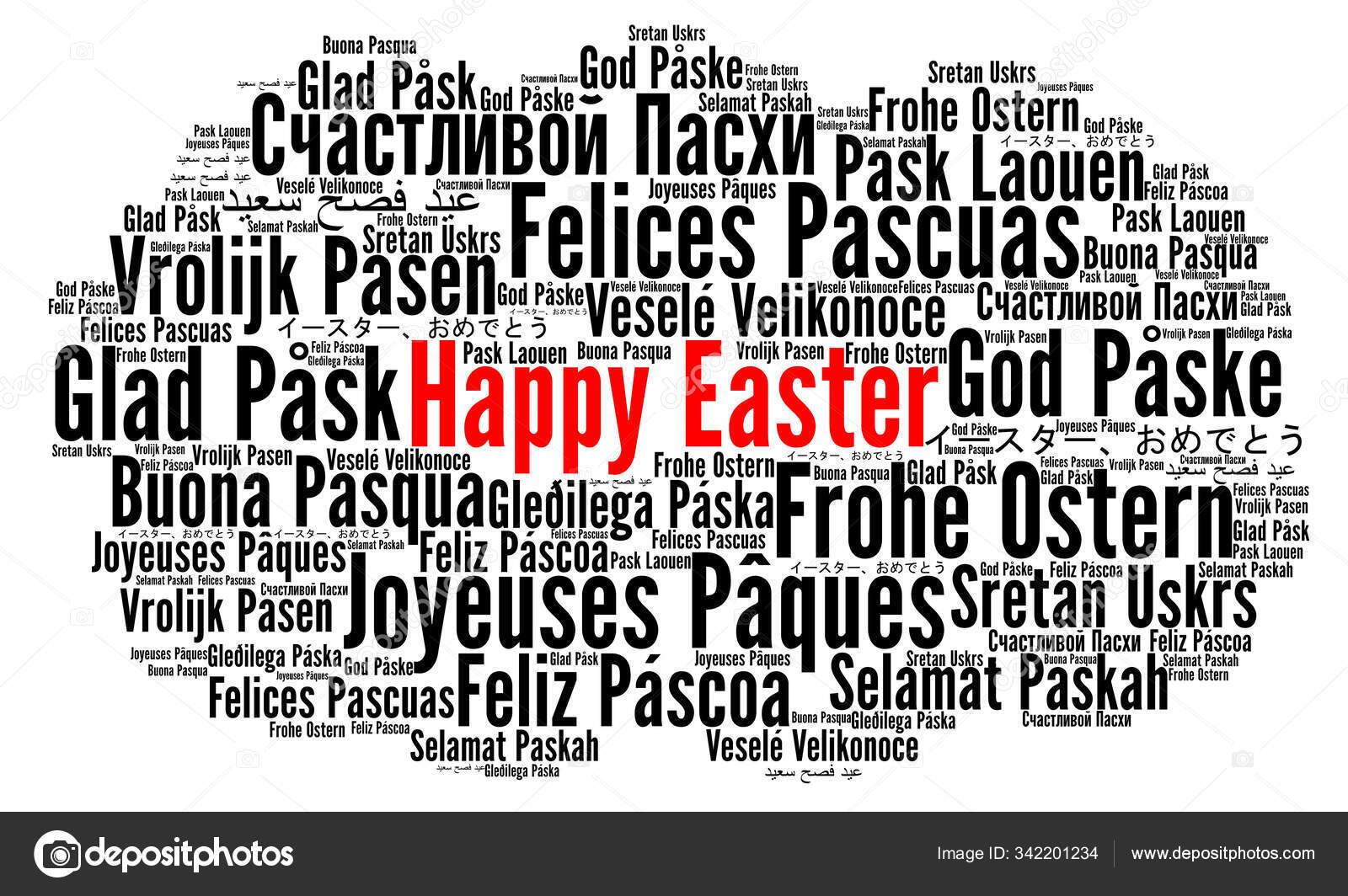Frohe Ostern In Verschiedenen Sprachen
