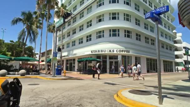 Miami Beach Florida Usa April 7 2018 Time Lapse Video Of The Popular Lincoln Road Outdoor Mall With Retail Stores And Restaurants