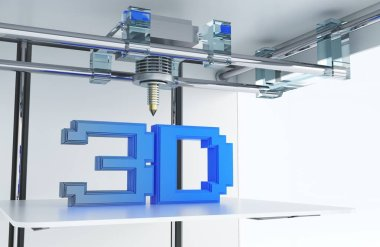 Printing in 3D Technology