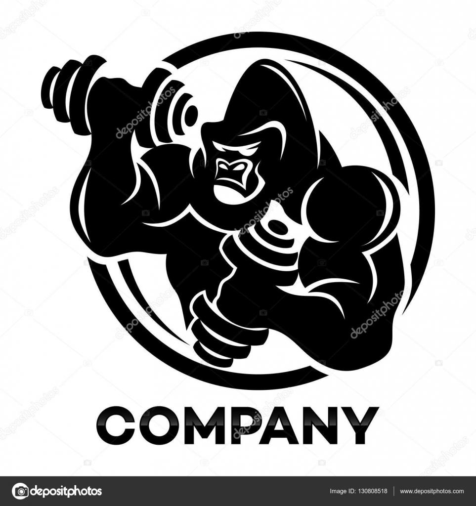 Dumbbell Logo Design