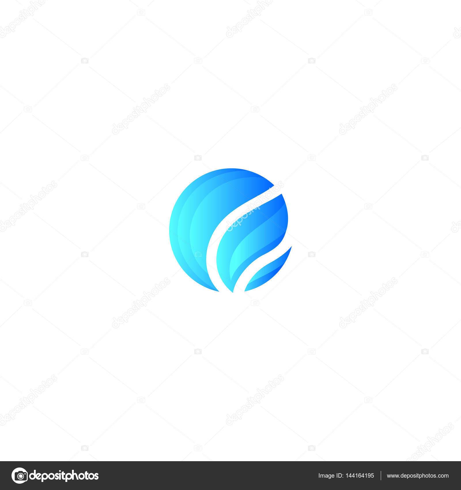 logotipo de fogo azul � vetor de stock 169 murrma 144164195