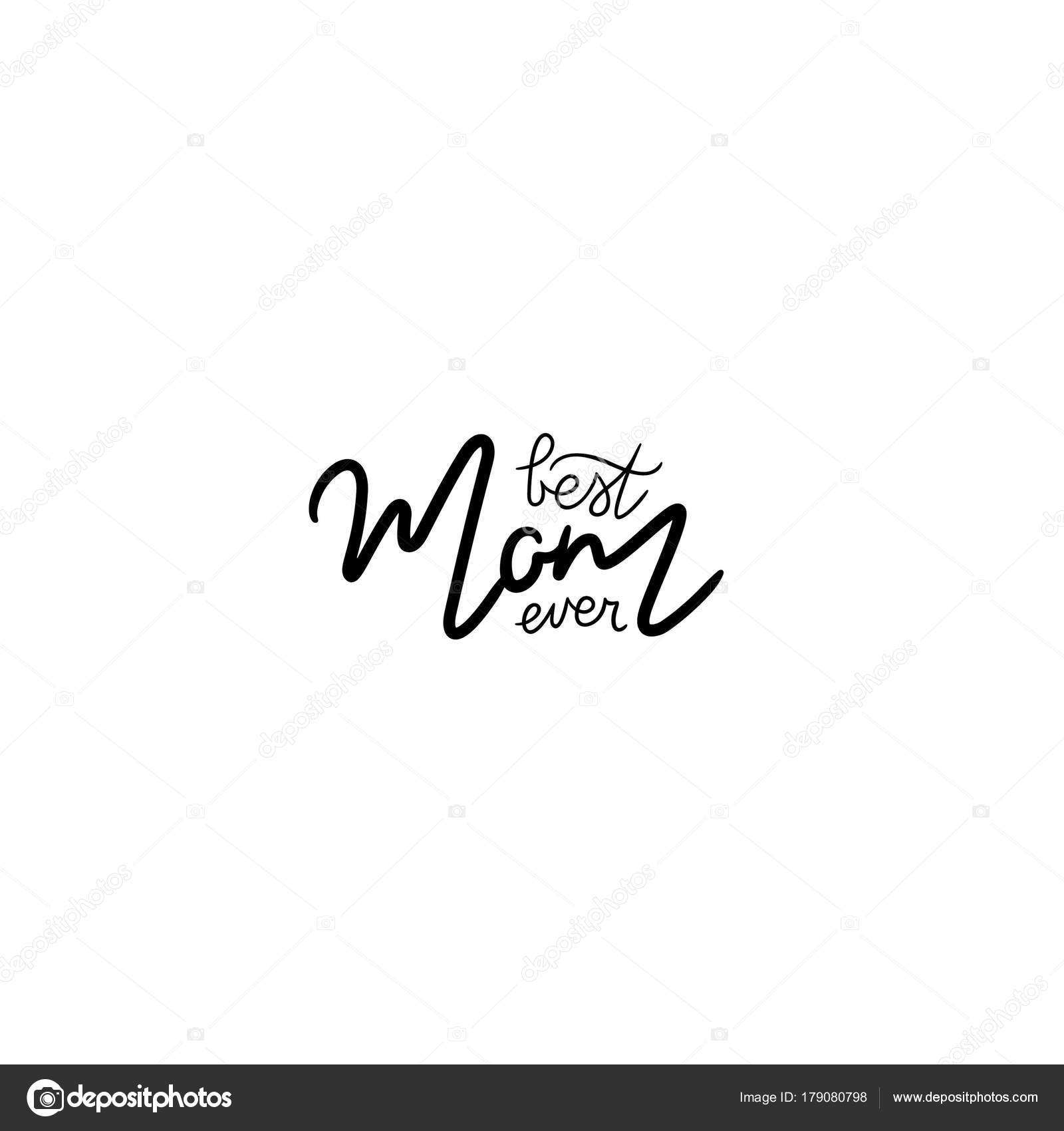 Beautiful calligraphic text greeting cards make christmas cards beautiful greeting card calligraphy text best mom ever stock depositphotos 179080798 stock illustration beautiful greeting kristyandbryce Choice Image