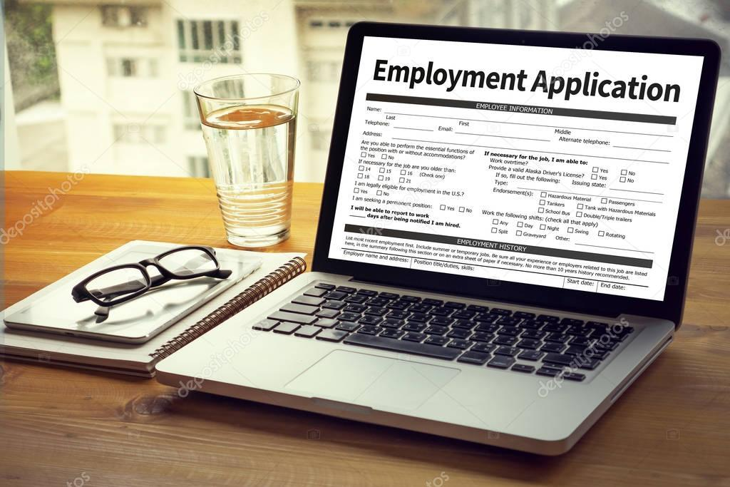 Employment Application Agreement Form Application For Employmen