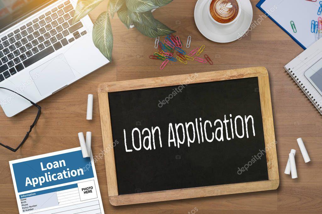 Kredit finanzielle Anwendung Formular ausfüllen des Formulars ...