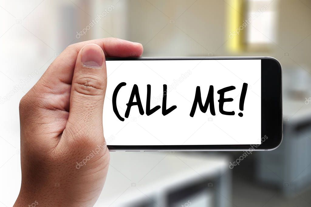 Bitte rufen Sie rufen mich Kontakt uns Kunden Service Support-Frage ...
