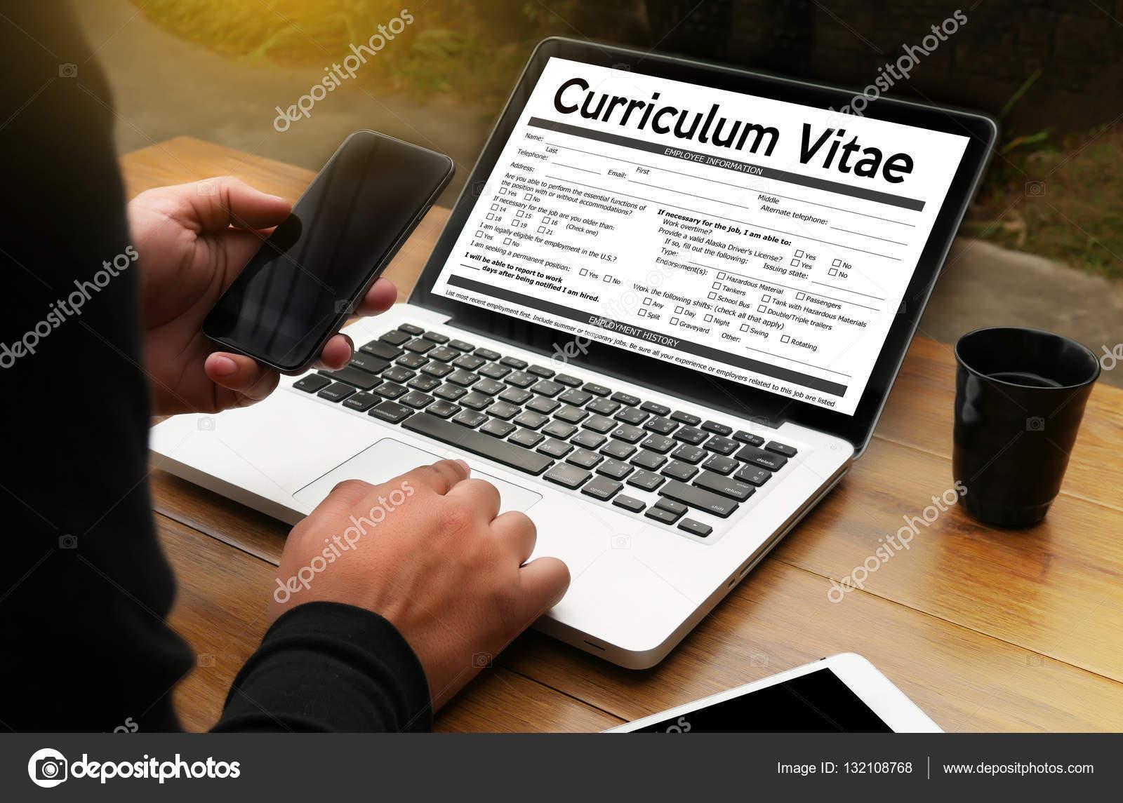 Cv Curriculum Vitae Pracovni Pohovor Koncept S R Obchodni