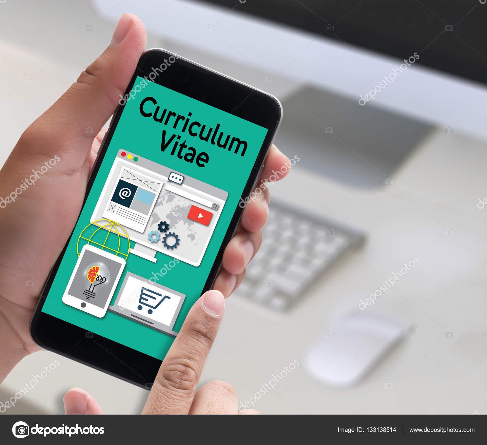 definitie cv CV   Curriculum Vitae (Job interview concept met zakelijke Cv r