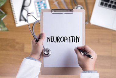 NEUROPATHY  Medical  Doctor concept , Neuropathy Wording in Anam