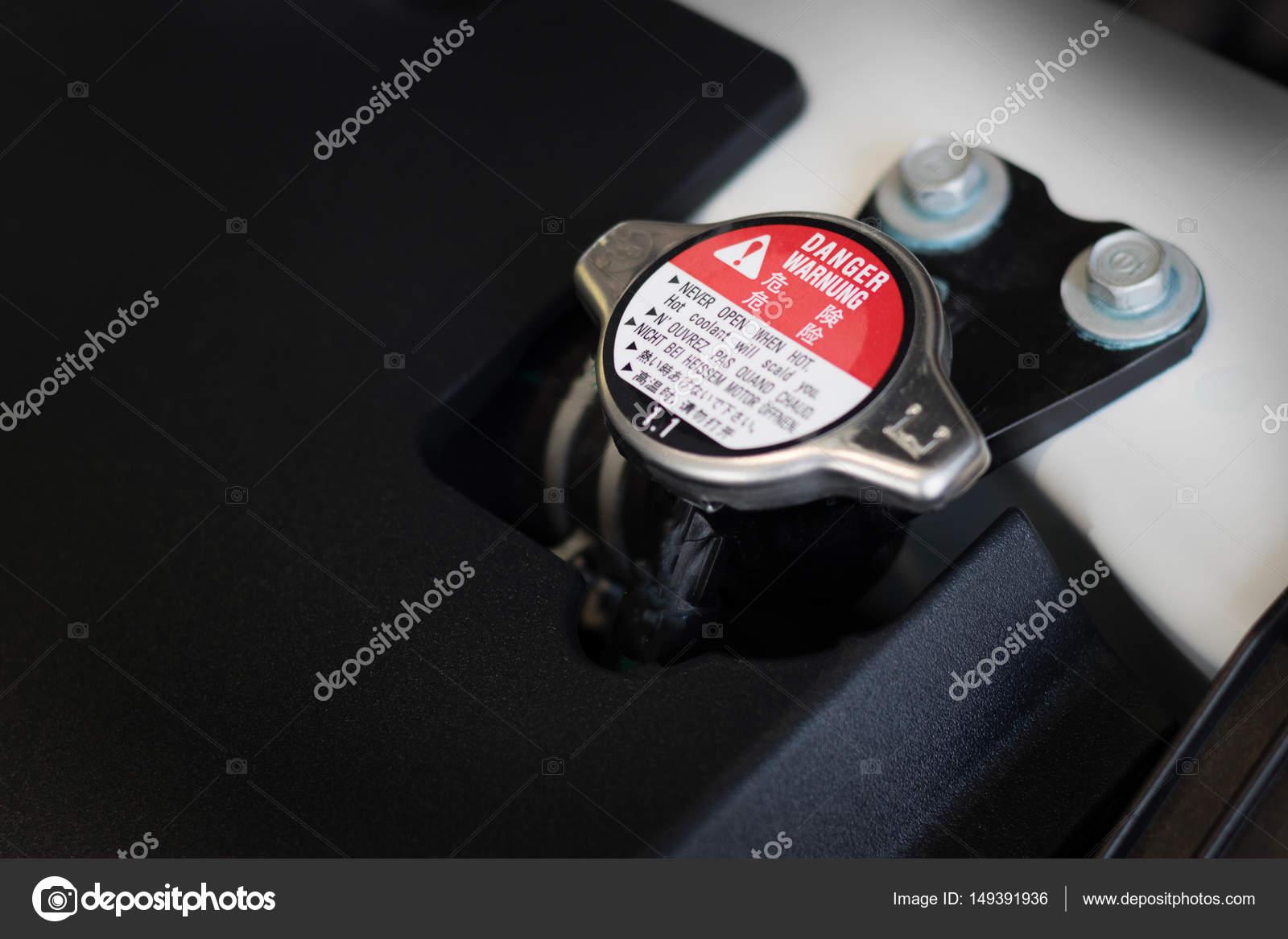 Neue Auto-Motor-Teil. Moderne leistungsfähige Automotor. Der ...
