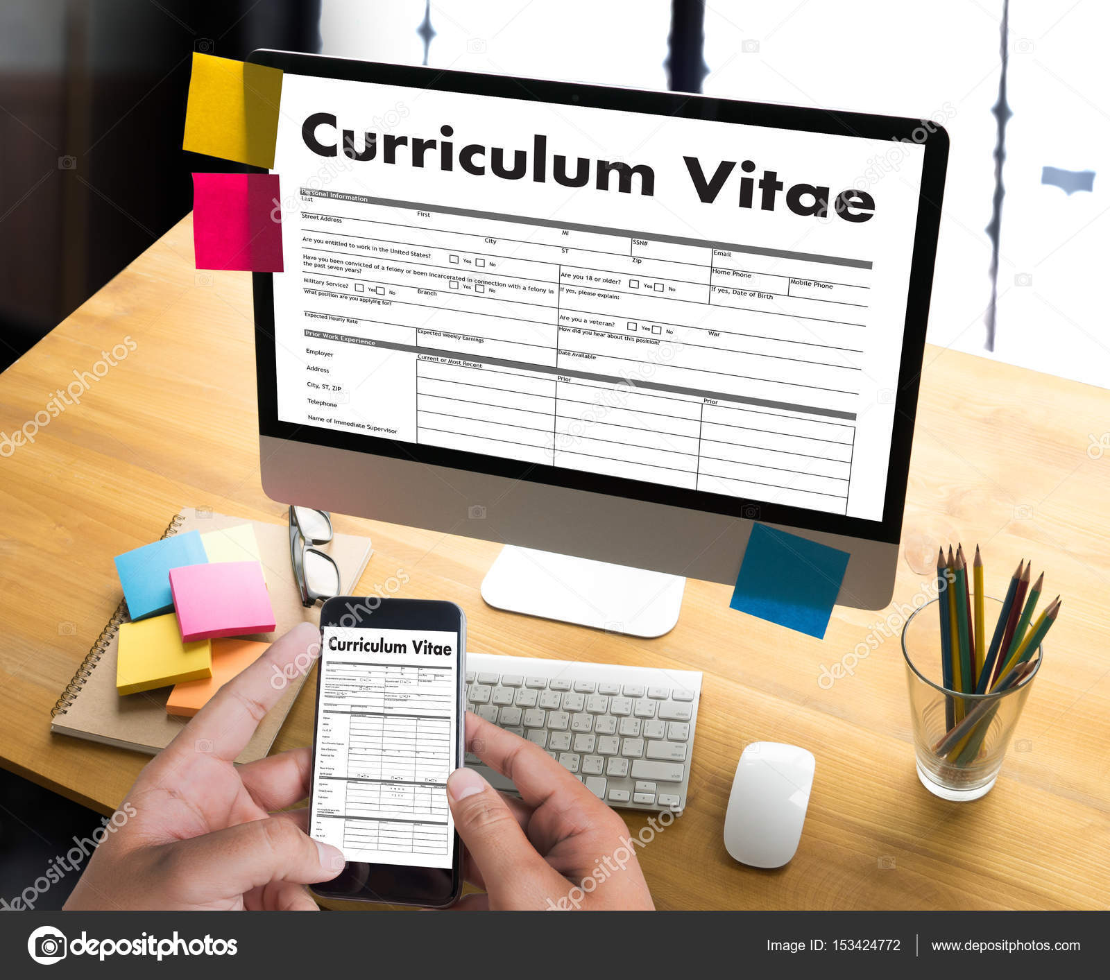 CV - Curriculum Vitae (Vorstellungsgespräch Konzept mit Cv-Geschäft ...