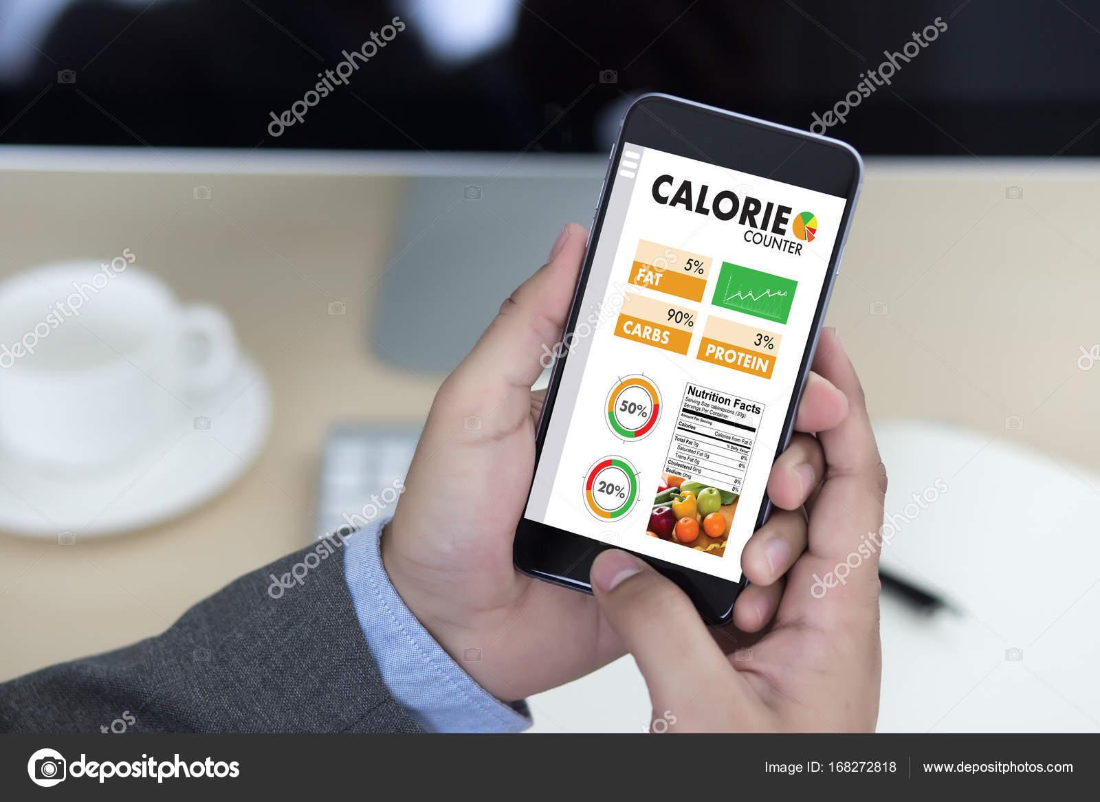 Die Kalorii Liczenia Licznik Aplikacji Medycznych Zdrowe Jedzenie