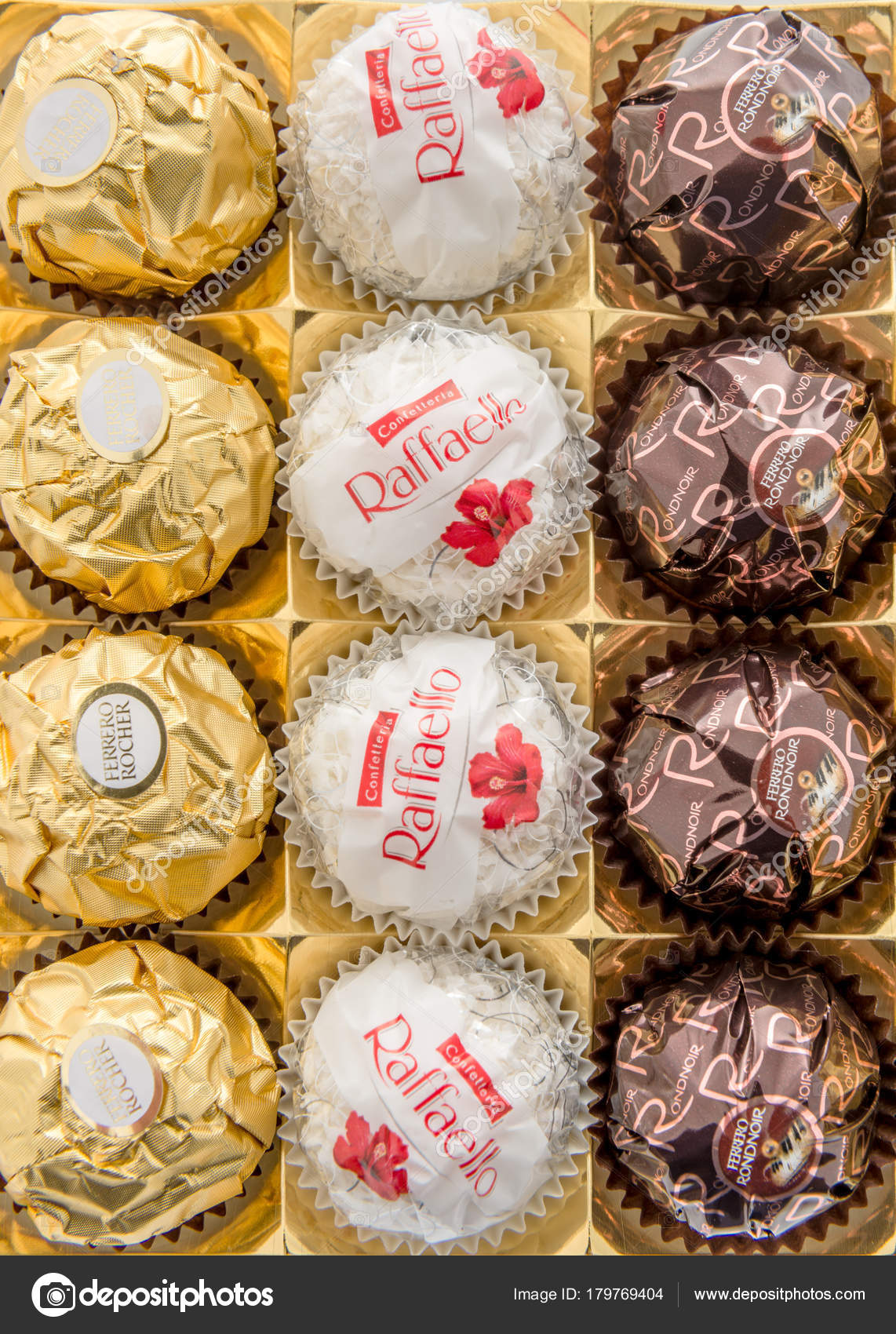 Ferrero Rocher Collection Redaktionelles Stockfoto Homank76
