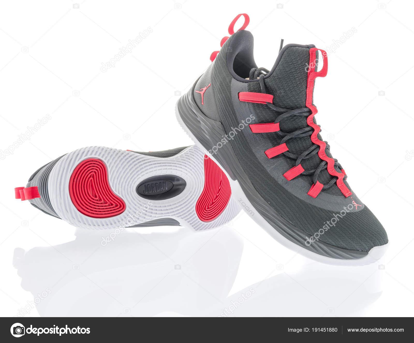 Pair of Jordan shoes – Stock Editorial