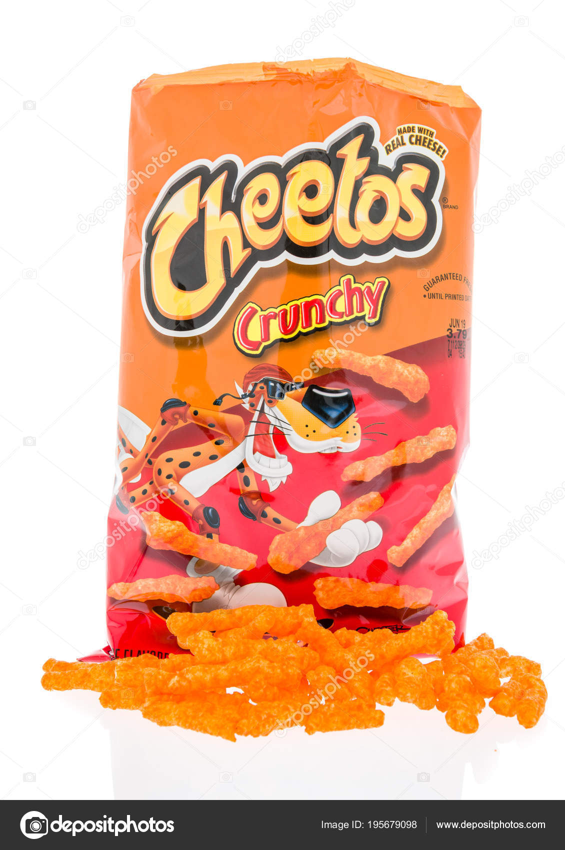 bag of cheetos – stock editorial photo © homank76 #195679098
