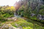 Pohled na řeku Hornad ve slovenském ráji