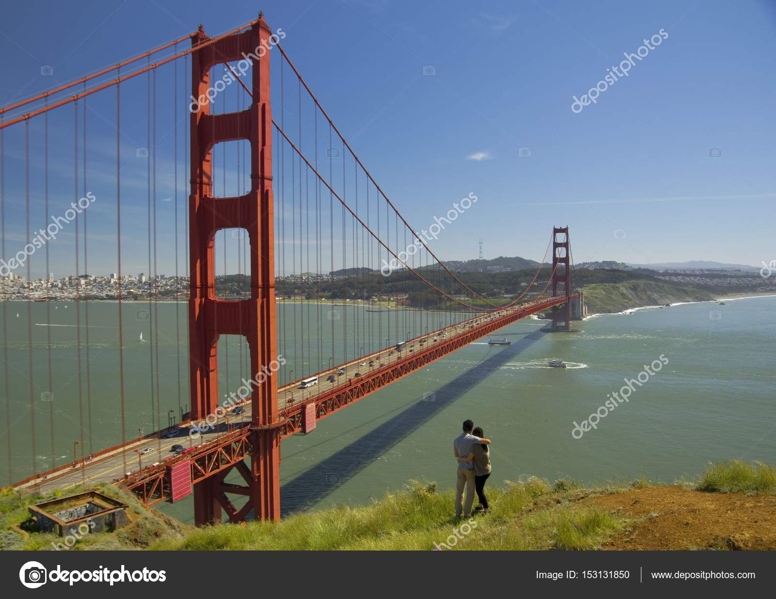 golden gate bridge san francisco kalifornien usa. Black Bedroom Furniture Sets. Home Design Ideas