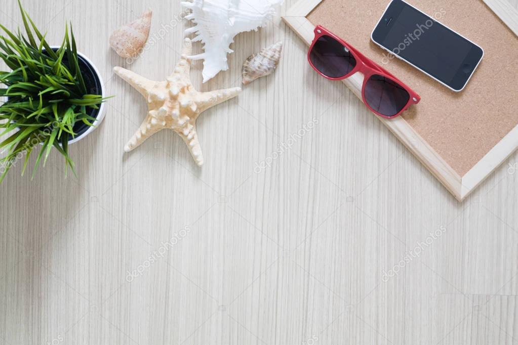 Beach Outdoor-Zubehör für den Urlaub Reisen — Stockfoto © onairjiw ...