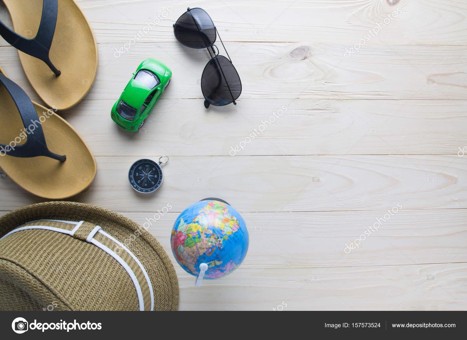 Beach Outdoor-Zubehör für den Urlaub fahren. Flach zu legen ...