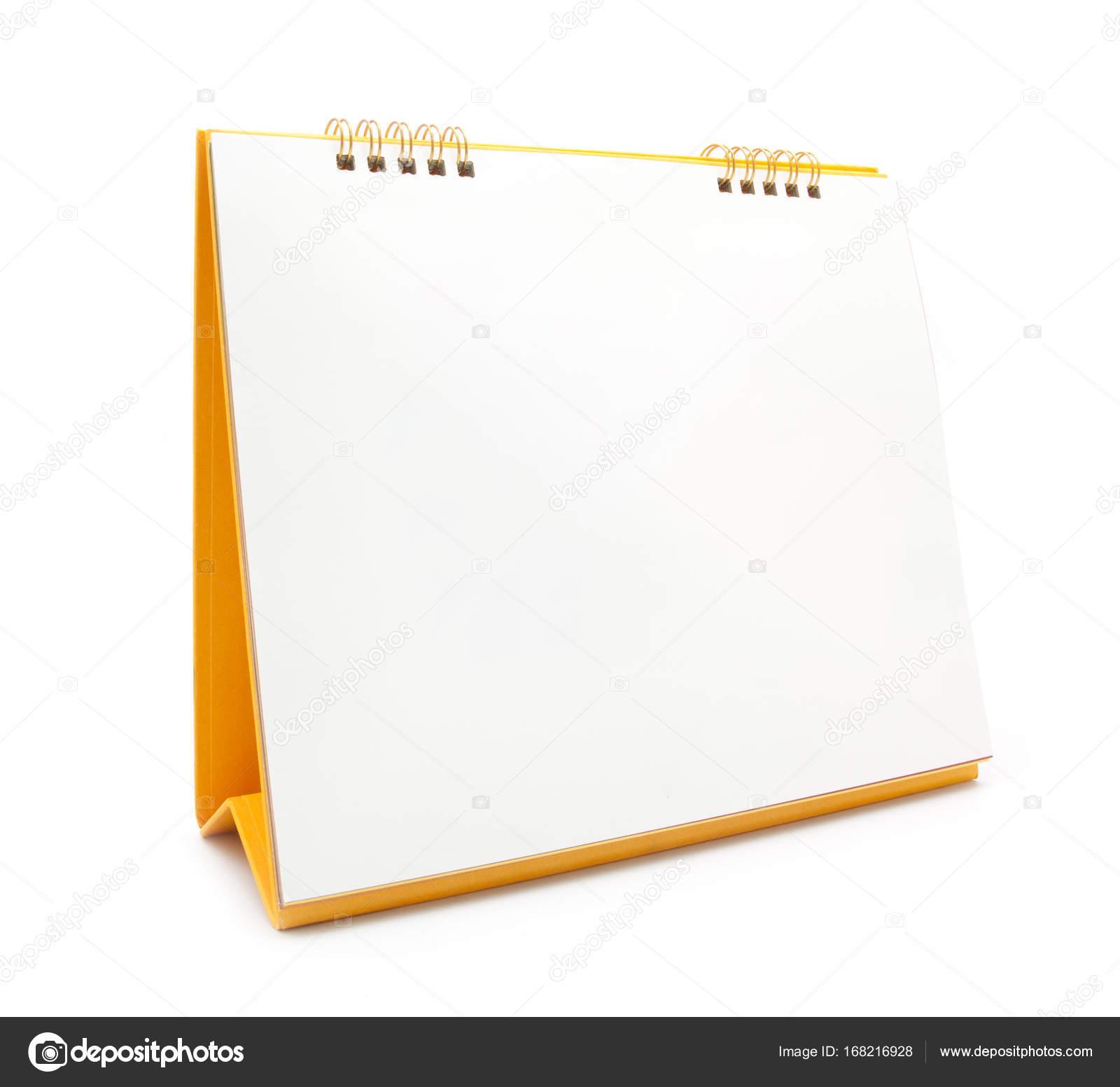 calendrier de bureau jaune isol sur blanc photographie onairjiw 168216928. Black Bedroom Furniture Sets. Home Design Ideas
