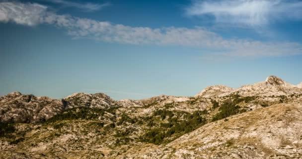 Time Lapse, Mountains At Prosica, Albanian Border, Montenegro