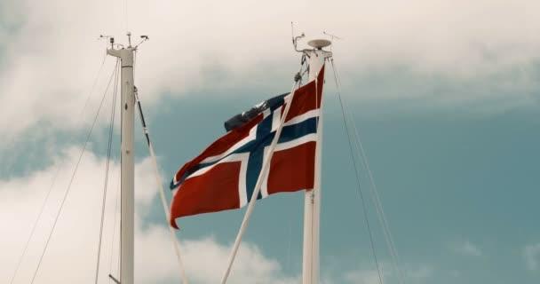 Bandiera della Norvegia - stile cinematografico
