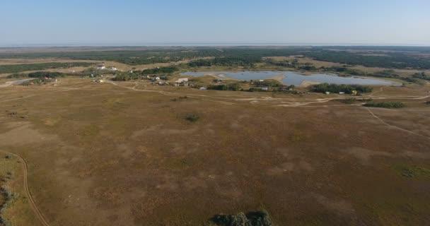 Letecký Fantastické pozorování krajiny ráno na pobřeží klidné moře, písčitý