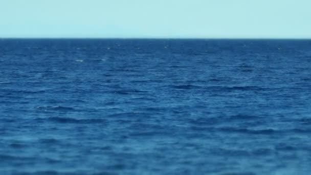 moře horizontu Zpomalený pohyb