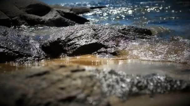 tiszta tenger hullám lassú mozgás