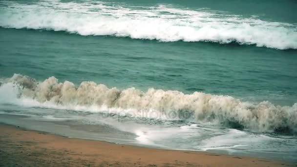 déšť vlna v moři zpomalené