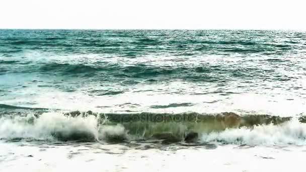 bouře moře Zpomalený pohyb