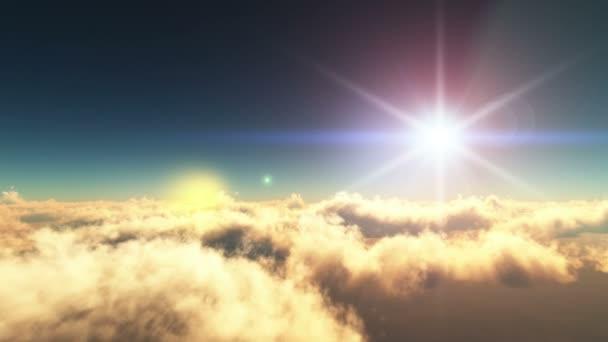 Podívejte se na nebeské obloze sunset