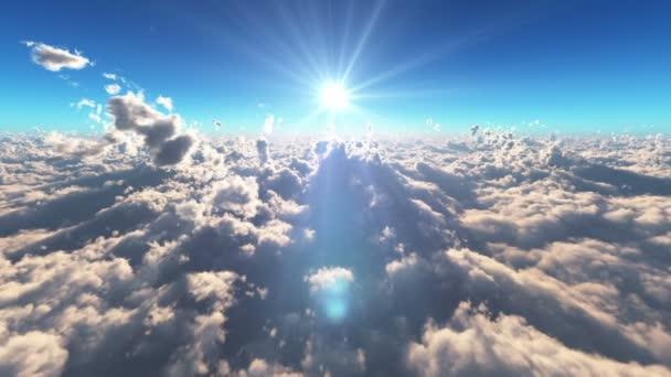letět nad mraky nad sun ray
